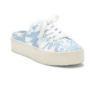 Jessica Simpson Eyden Pop Tie Dye Mule Sneakers